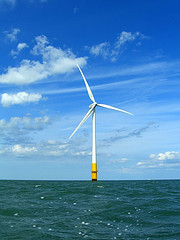 Thames Estuary wind turbine