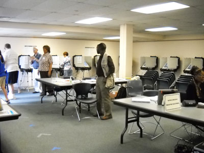 Voting in Silver Spring