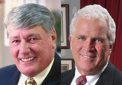 Mike Busch, left, and Mike Miller
