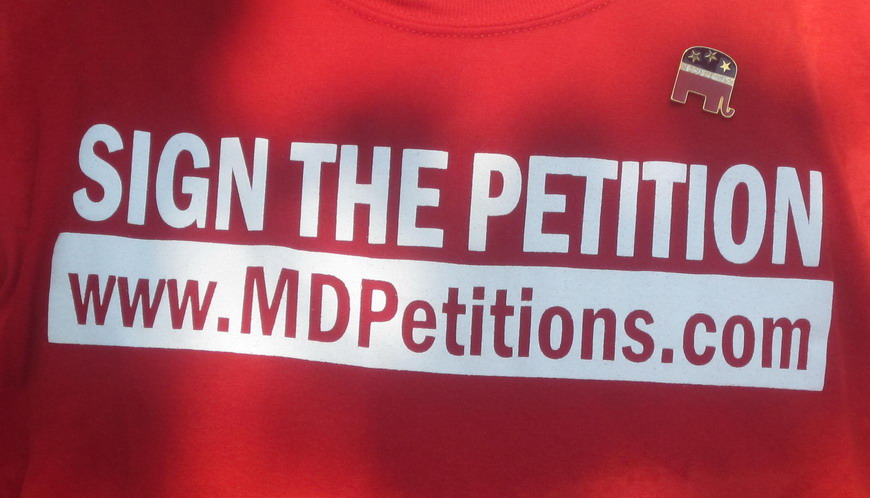 Petitions T-shirt