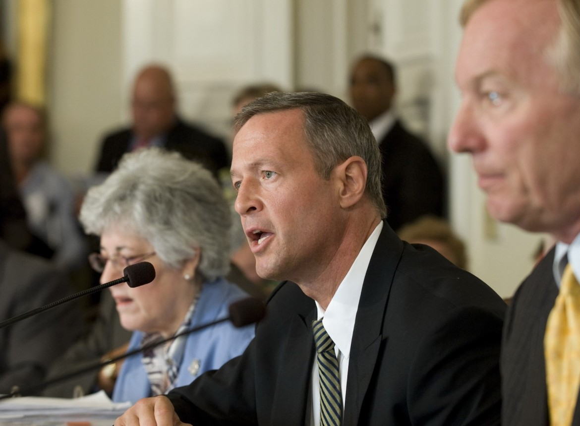 Board of Public Works: Treasurer Nancy Kopp, Gov. Martin O'Malley, Comptroller Peter Franchot