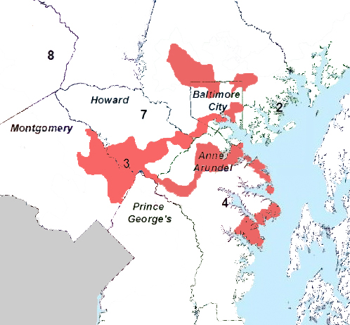 Proposed 3rd district