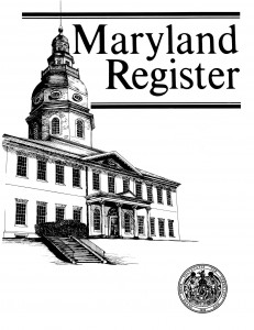 Maryland Register
