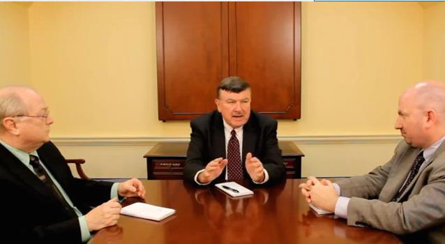 From left: Joel McCord, WYPR; Len Lazarick, MarylandReporter.com; Bryan Sears, Patch.com