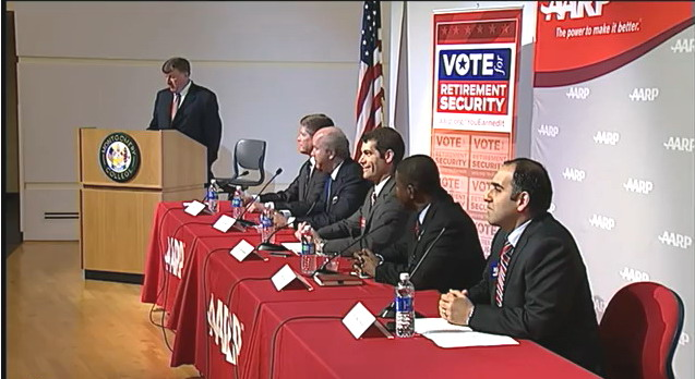 6th Congressional District debate with five Democratic candidates.