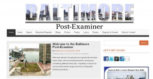 Baltimore Post-Examiner home page