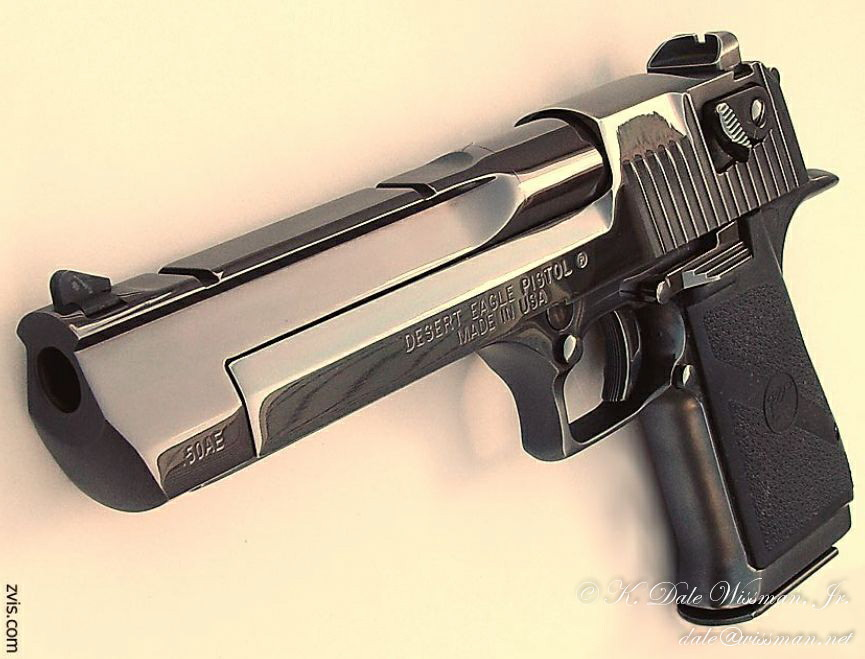 Desert Eagle .50 semi-automatic pistol