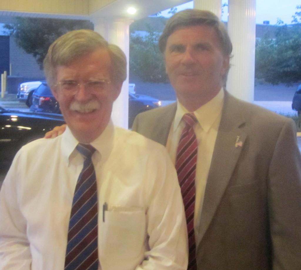 Former U.N. Ambassador John Bolton and former Gov. Bob Ehrlich