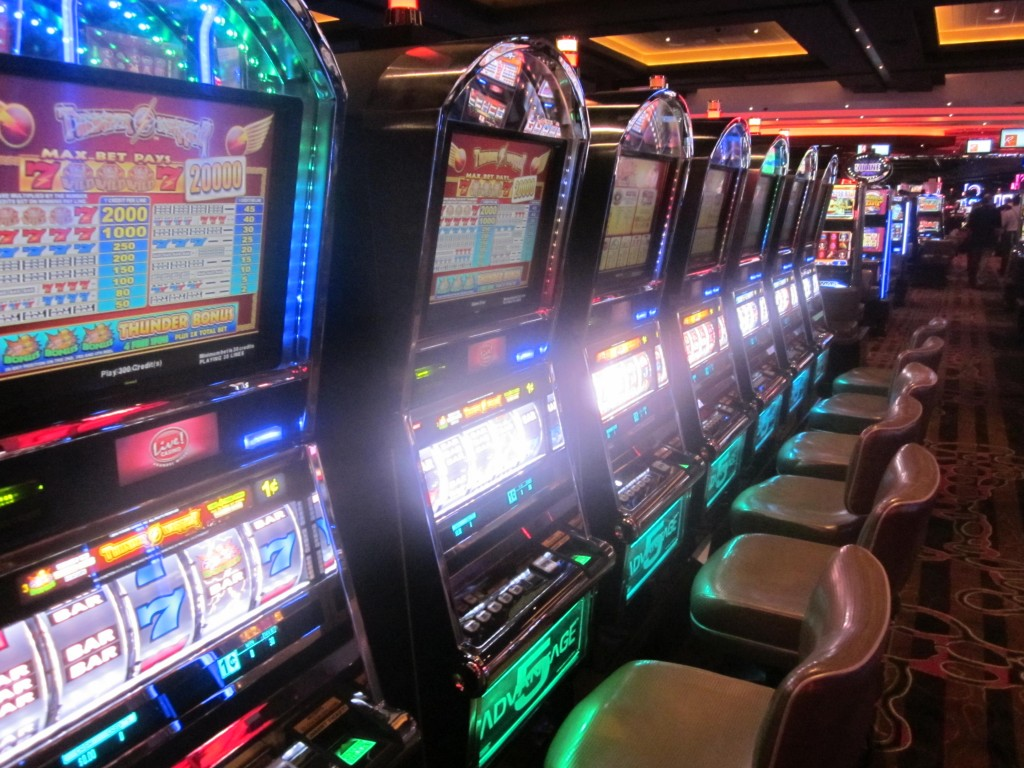 Video lottery terminals at Maryland Live! casino