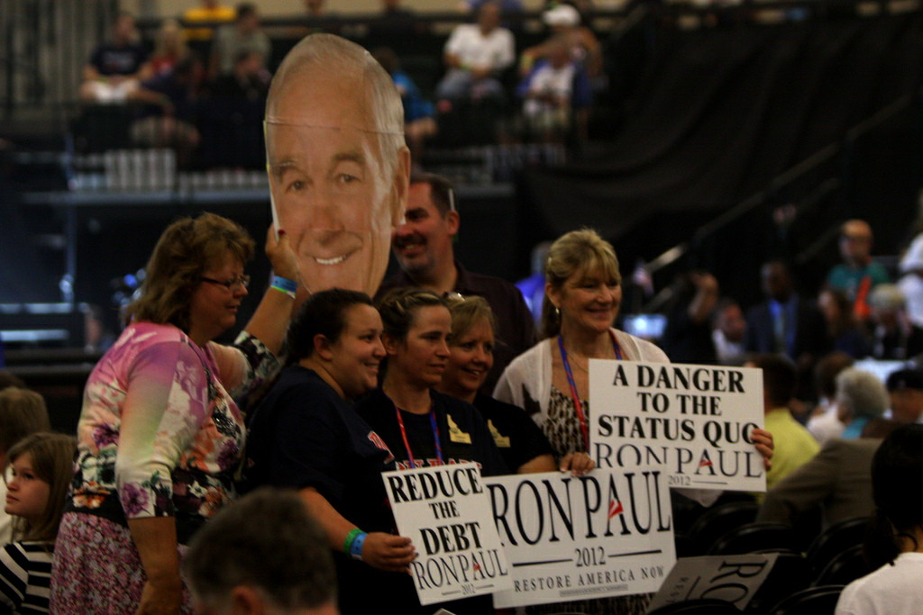 Ron Paul rally near Tampa by Gage Skidmore on Flickr
