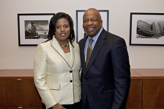 Rep. Elijah Cummings and Mayor Stephanie Rawlings-Blake (By ElijahECummings)