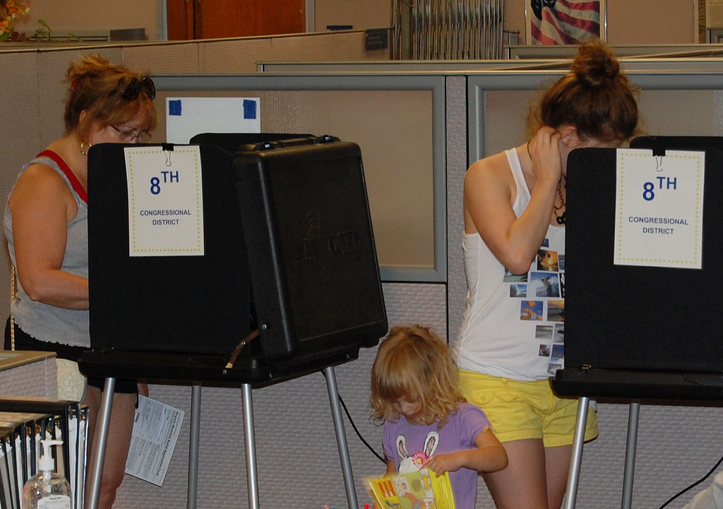Voting by fairfax county on flickr