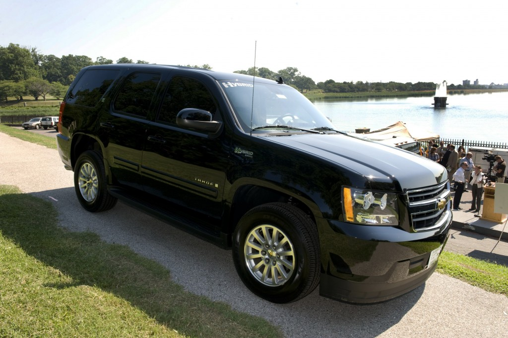 The governor and lieutenant governor both are driven in Chevy Tahoe hybrid SUVs with transmission manufactured in Maryland.