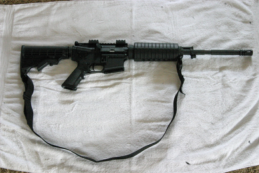 A .223 Bushmaster (Photo by aconoway1 on Flickr)