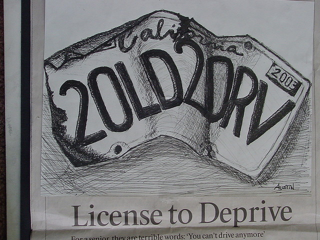 License plate 2 old 2 drv