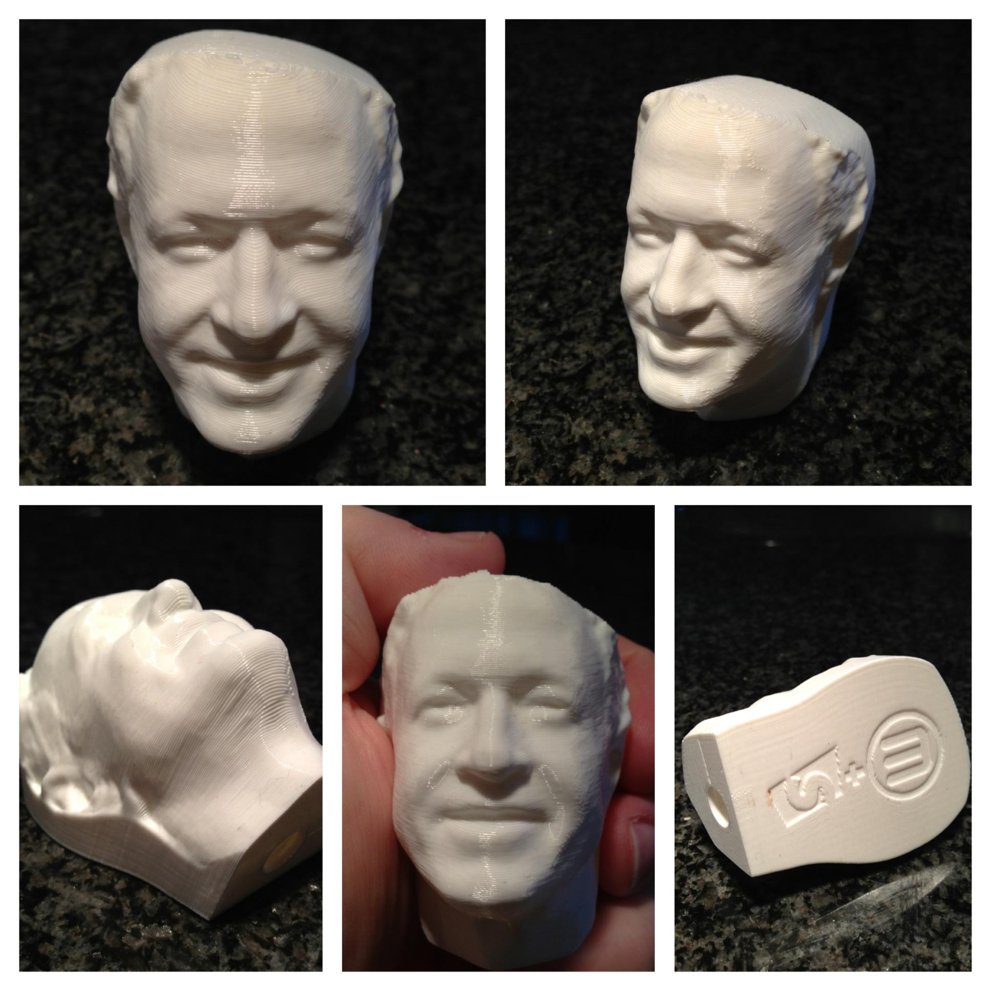 Gov. Martin O'Malley's head shots.