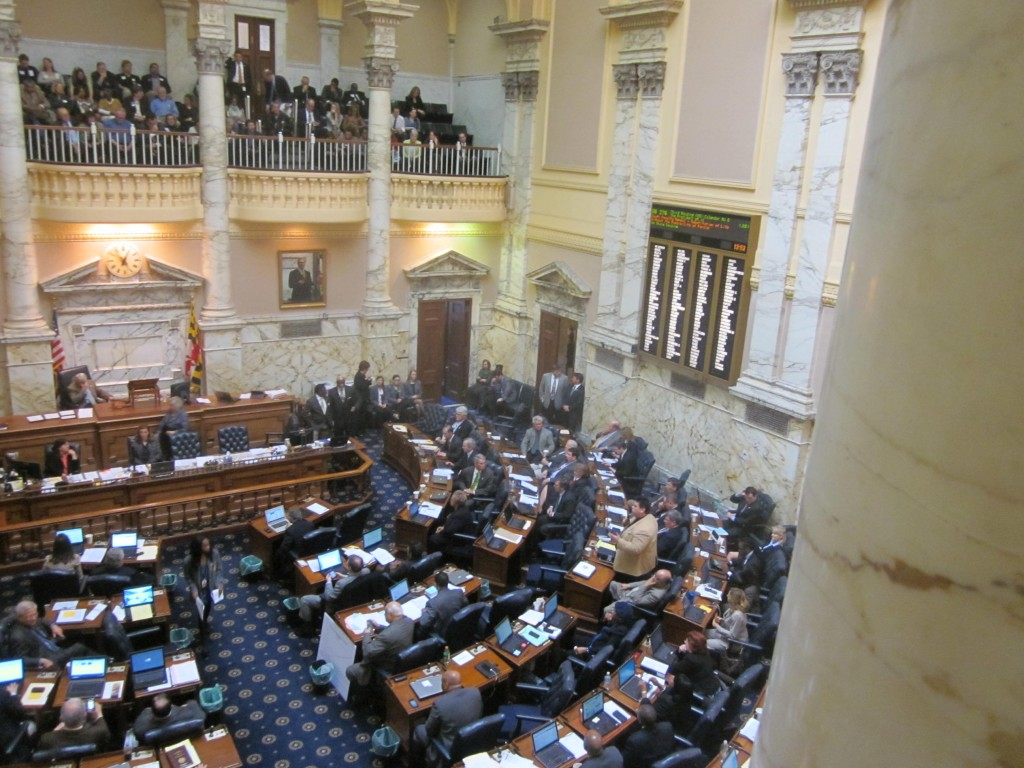 House of Delegates floor