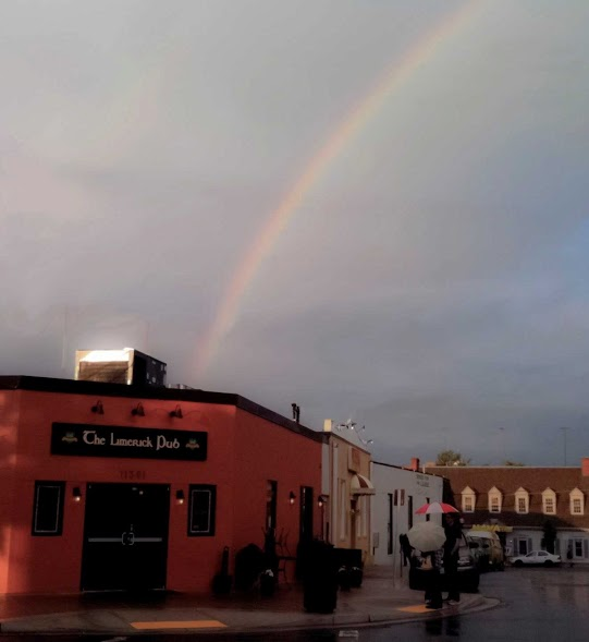 The Limerick Pub rainbow