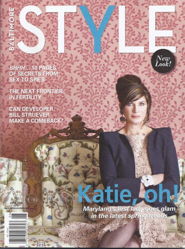 The cover of the June issue of Baltimore Style magazine.