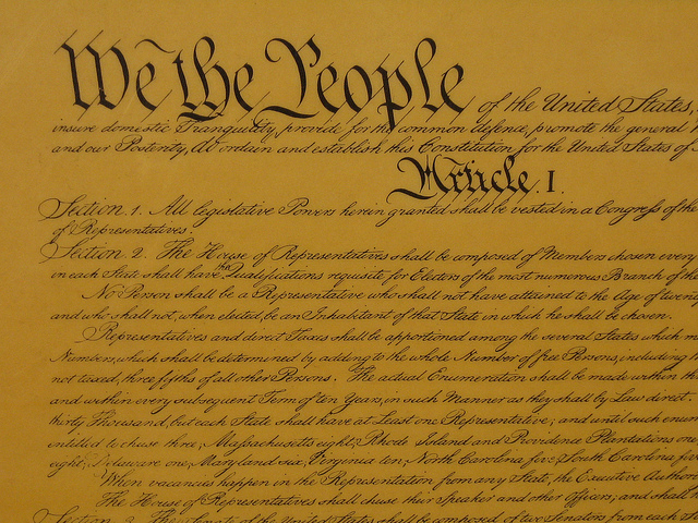 We the people U.S. Constitution