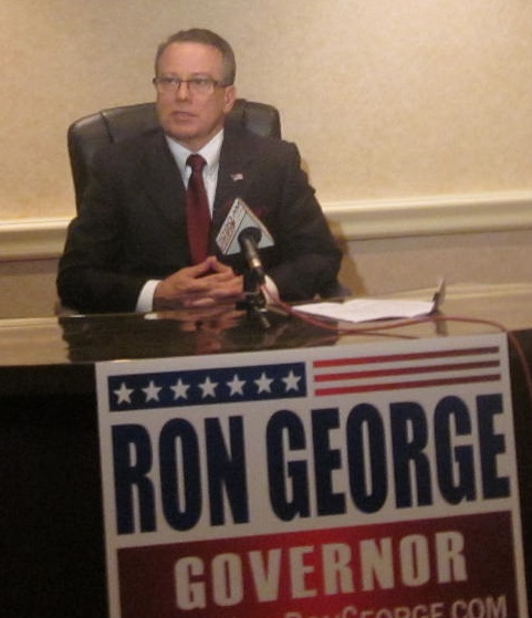 Ron George governor sign