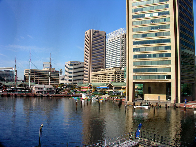 Baltimore Inner Harbor (By CaDeltaPhoto)