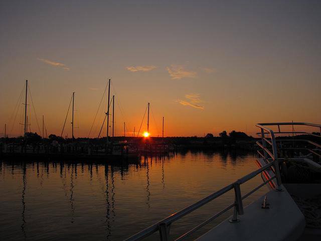Crisfield Sunrise (By kennykunie on Flickr)