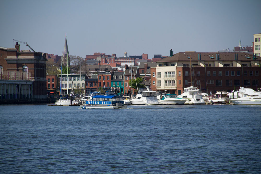 Fells Point waterfront (Capital News Service)
