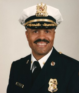 Neill Franklin as a Baltimore police major