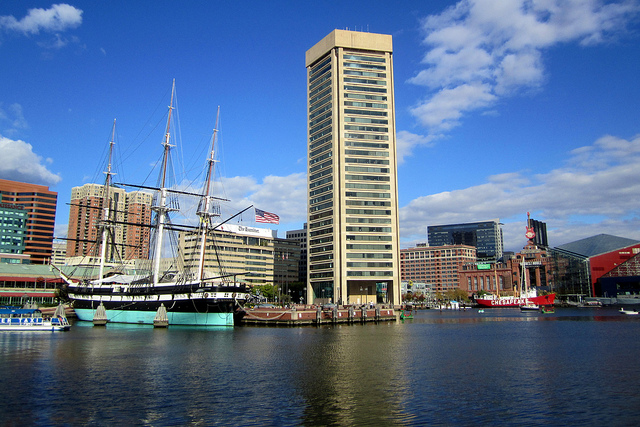 World Trade Center Baltimore (By wallyg on flickr)