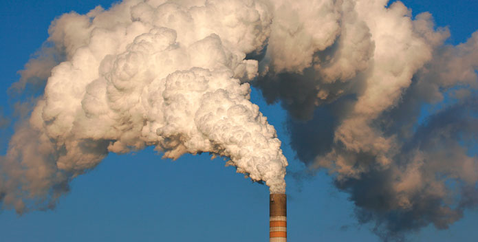 Smokestack air pollution by Chesapeake Bay Foundation