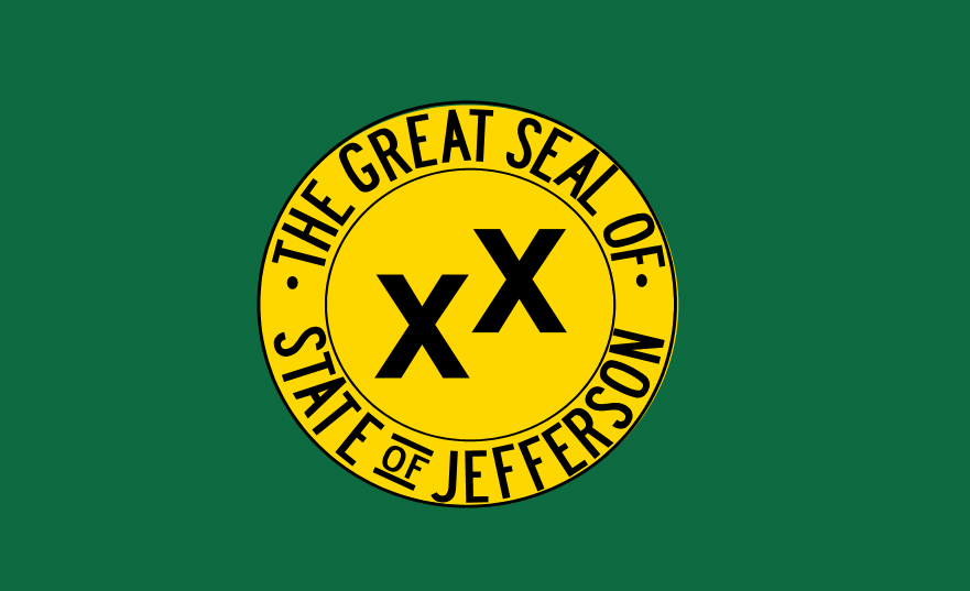 State of Jefferson flag
