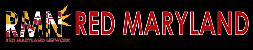 Red maryland banner