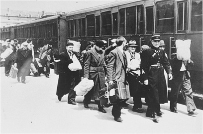 Photo from the French Coalition for Holocaust Rail Justice.