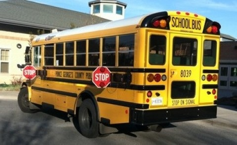 pRINCE gEORGE'S cOUNTY SCHOOL BUS