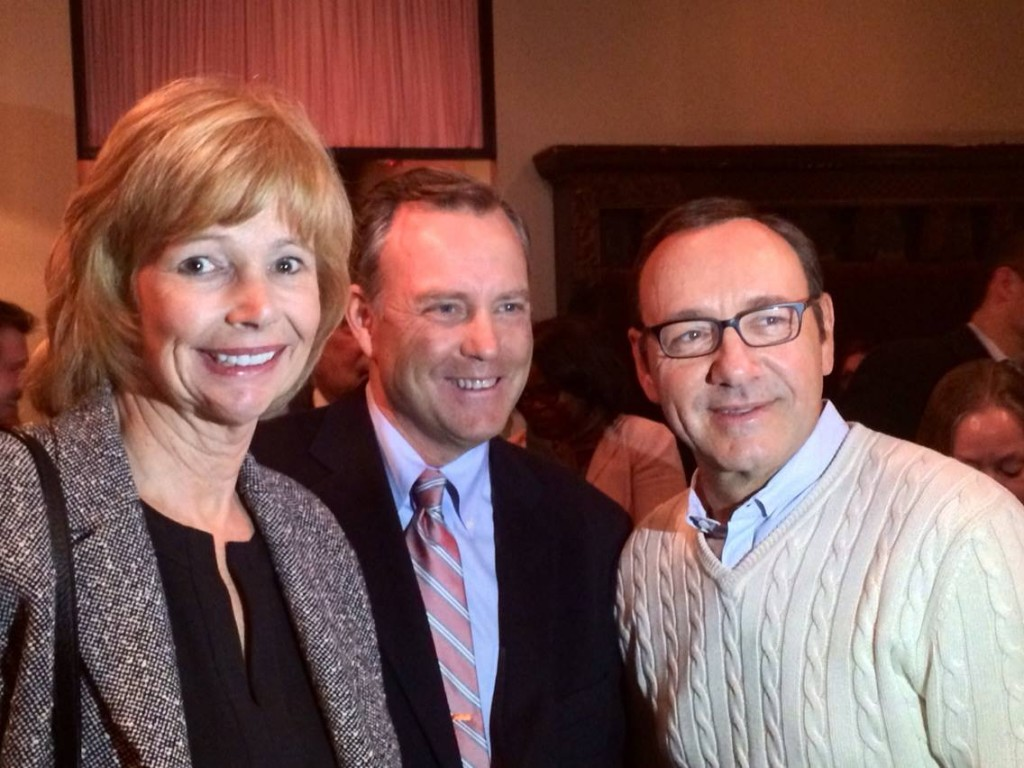 Sen. Nancy Jacobs and Spacey