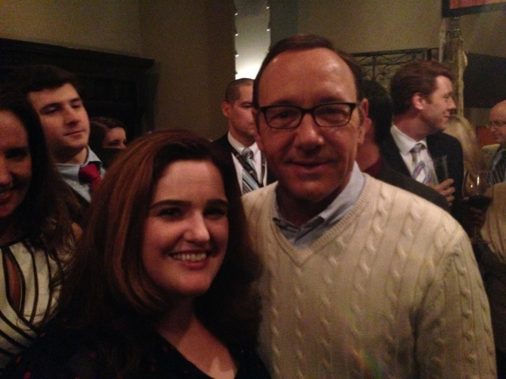 Del. Ariana Kelly and Spacey