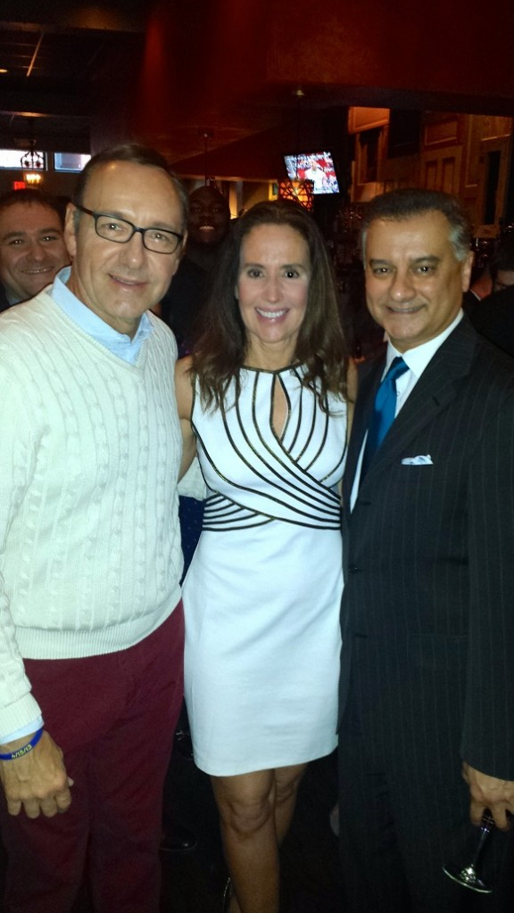 Kevin Spacey, Maureen Quinn, House Majority Leader Kumar Barve