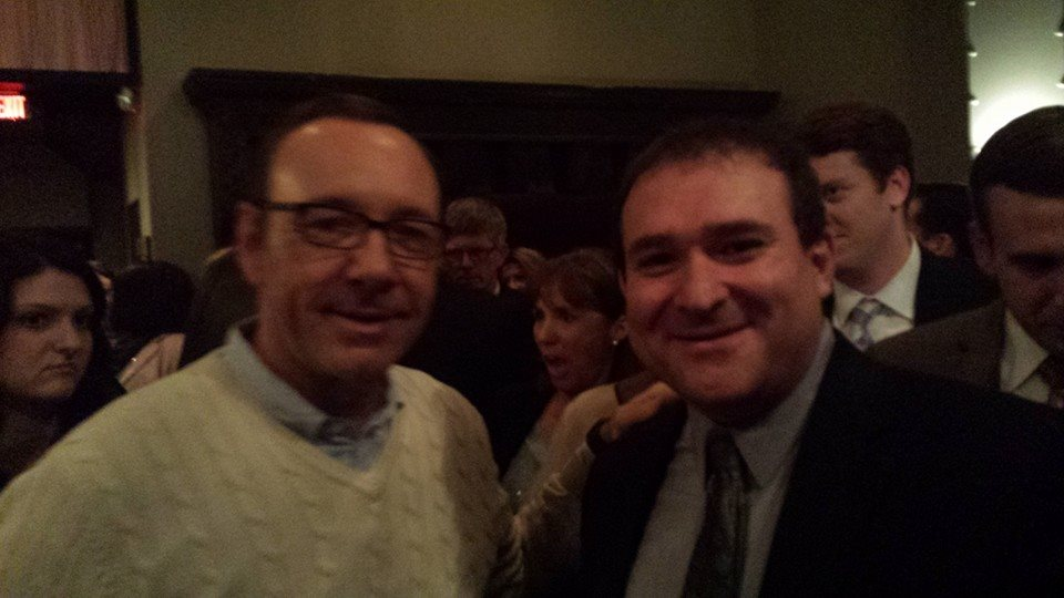 Spacey and Del. Kirill Reznik