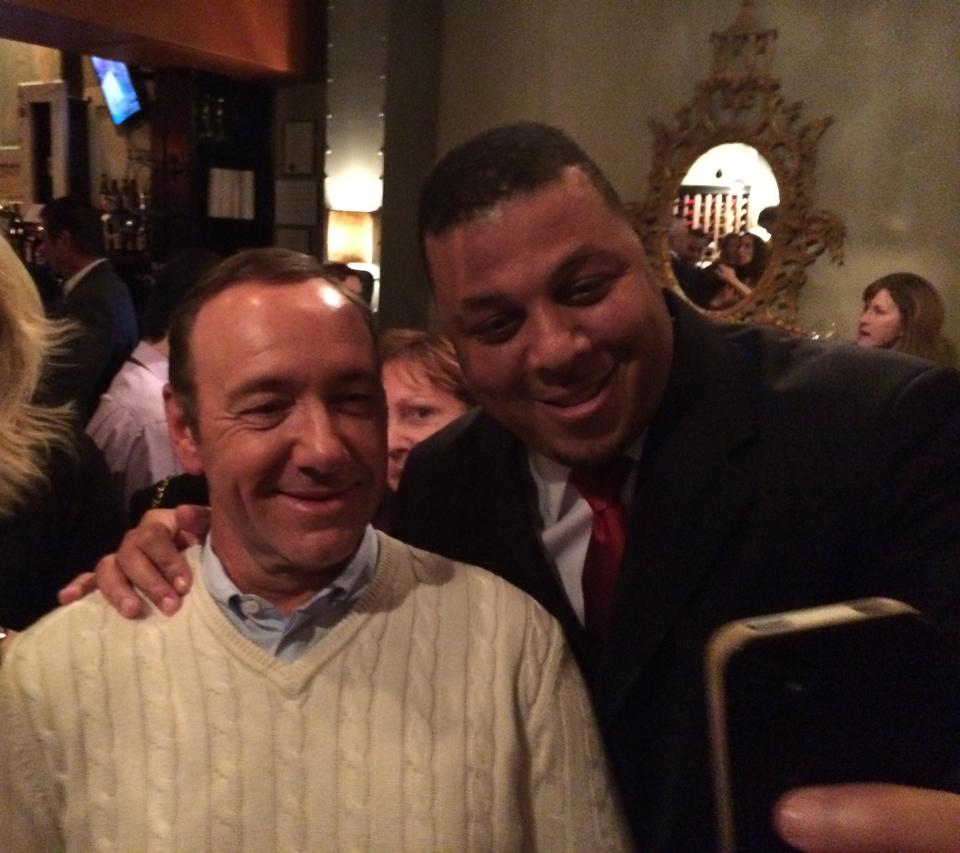 Spacey and Del. Jay Walker