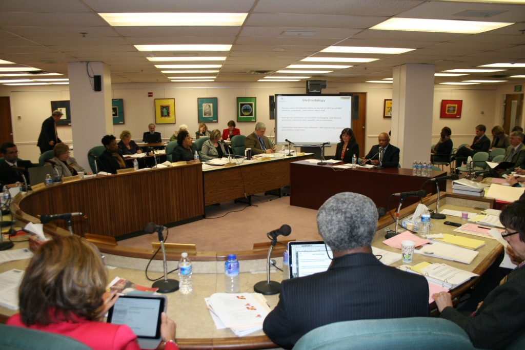 State Board of Education meeting March 25.