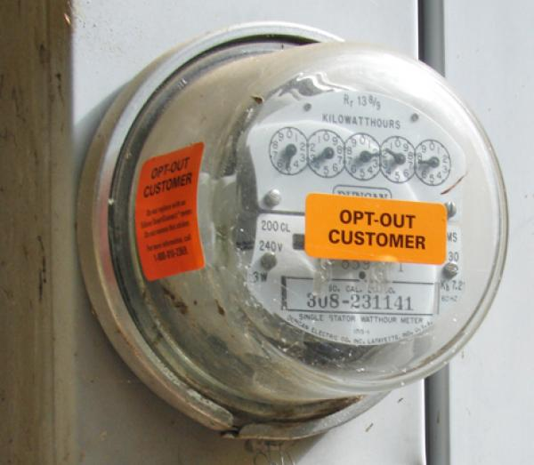 Opt-out smart meter