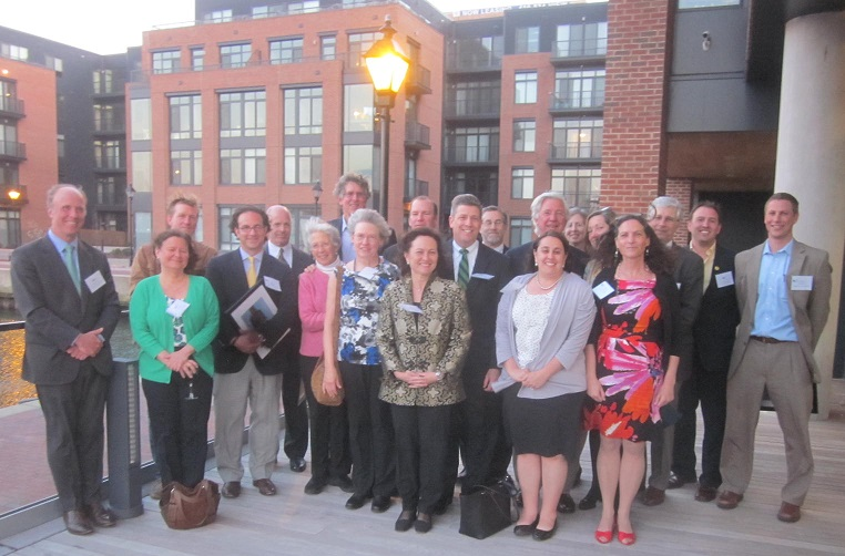 """1000 Friends of Maryland celebrated its 20th anniversary honoring """"visionaries: and """"heroes"""" at Union Wharf on the Baltimore harbor."""