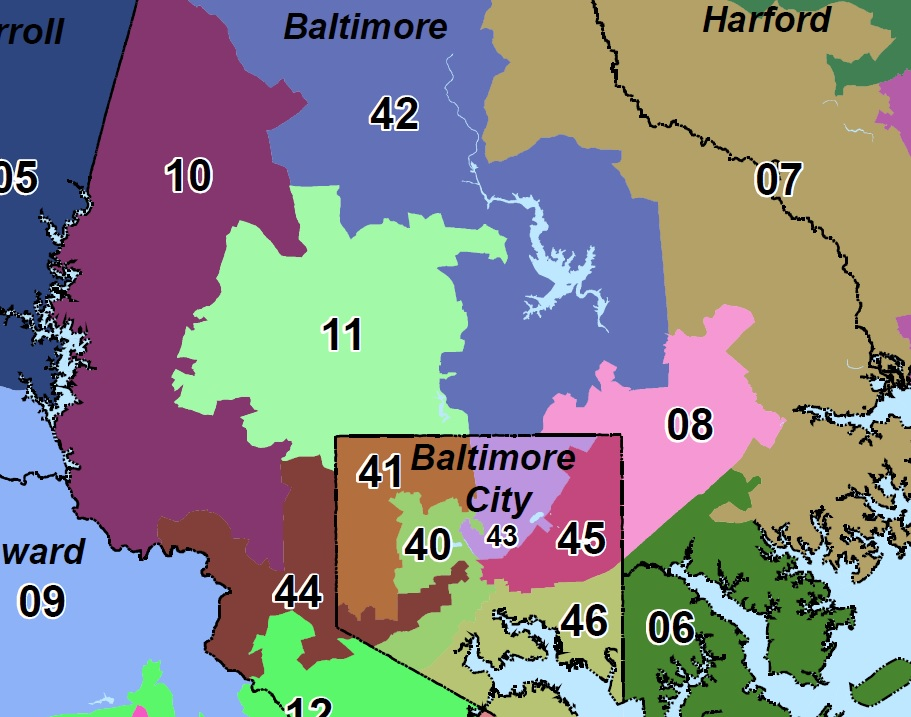 Senate District in Baltimore County