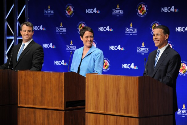 Attorney General Doug Gansler, Del. Heather Mizeur, Lt. Gov. Anthony Brown debate