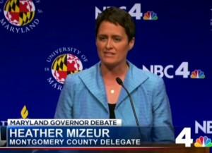 Heather Mizeur debate