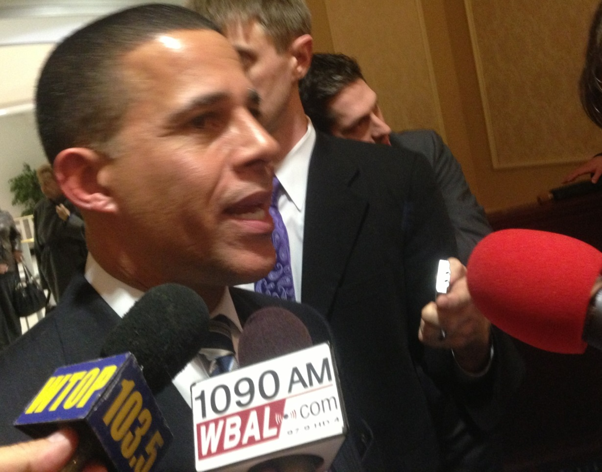 Brown says he's 'open' to independents voting in party primaries; calls Gansler finance charges 'desperate deception'