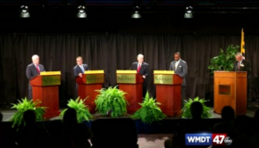 Craig George Hogan Lollar debate GOP