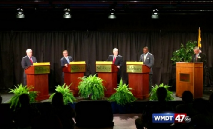 TV forum with Republicans for governor stirs little reaction
