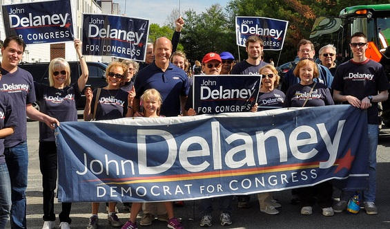 John Delaney for Congress parade